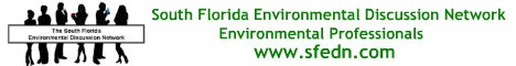 South Florida Environmental Discussion Network
